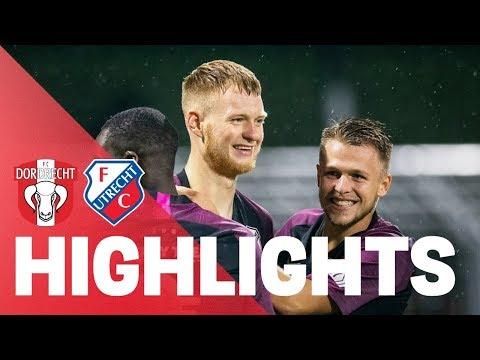 HIGHLIGHTS   FC Dordrecht - Jong FC Utrecht