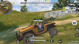 Top 1 cùng team Việt Nam Rules of survival pc