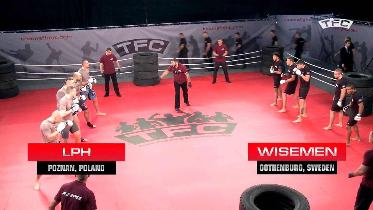 Fight 1 of the TFC - LPH vs Wisemen