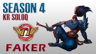 SKT T1 Faker - Yasuo vs Fizz - KR SoloQ