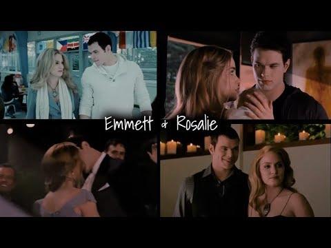 twilight emmett and rosalie moments youtube