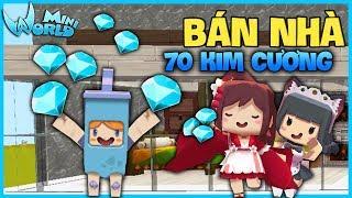 Mini World : Block Art TẬP 13*GUMBALL QUYẾT ĐỊNH BÁN NHÀ GIÁ 70 KIM CƯƠNG*GUMBALL MINI WORLD