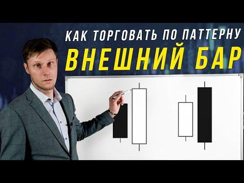 СДЕЛКИ В BUY И SELL ПО ПАТТЕРНУ ВНЕШНИЙ БАР | Академия Форекса