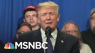President Donald Trump Accused Of Playing Politics With Security Intelligence | AM Joy | MSNBC