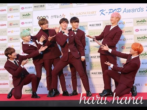 BTS, IKON, EXO, VIXX, SEVENTEEN, SUPER JUNIOR [5th Gaon Red Carpet]