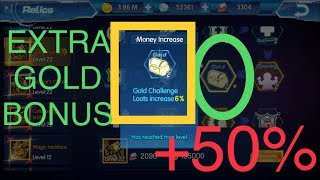 How To Get Extra GOLD, EXP, SPEED GIFTS Through Sky Explore Relics