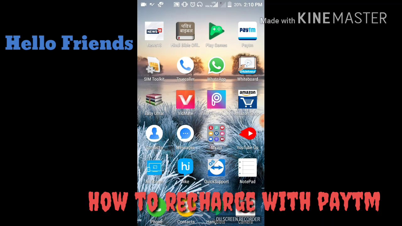 how-to-recharge-mobile-balance-in-paytm-in-hindi-how-to-use-paytm-2017