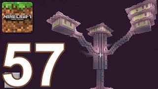 Minecraft: Pocket Edition - Gameplay Walkthrough Part 57 - End City (iOS, Android)