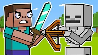 Block Squad: Minecraft Survival Mode (Animation Compilation)   ArcadeCloud
