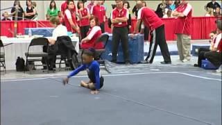 Simone Biles - Floor Exercise - 2010 Junior Olympic National Championships