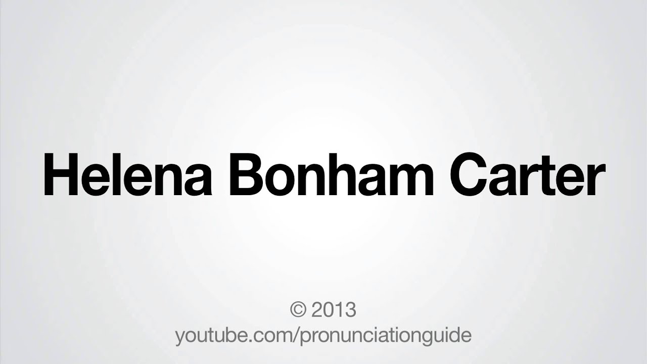how to pronounce elena in english