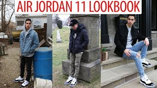 HOW TO STYLE: Air Jordan 11 'Concord' - Outfit Ideas/Look book