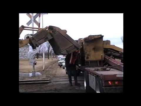 Champlain Train Derailment 3-27-04