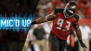 "Gerald McCoy Mic'd Up vs. Steelers ""My Fault Ben!"" 
