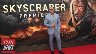 Is Overexposure of Dwayne Johnson Hurting 'Skyscraper' Box Office Numbers? | THR News