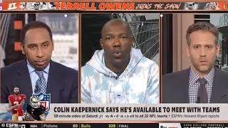 Terrell Owens says Max Kellerman is BLACKER than Stephen A Smith