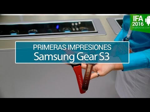 Samsung Gear S3, lo probamos para ti
