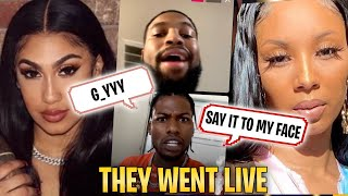 cj so cool and chris sails Argue live about Queen Naija and Royalty + More