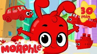 Morphle vehicle compilation for kids!