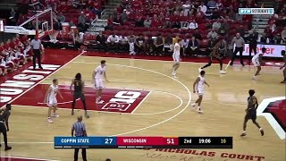 Highlights: Coppin State at Wisconsin Badgers | Big Ten Basketball