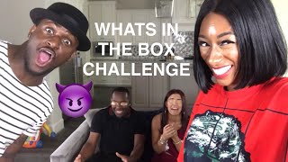 WHATS IN THE BOX CHALLENGE (RIDICULOUSLY FUNNY) FT D & B NATION