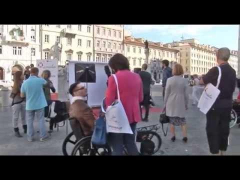 Backstage Shooting fotografico Amalia - Piazza della Borsa - Trieste