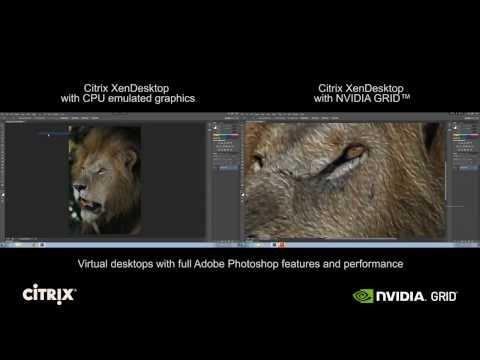 ICT-Cloud.com ® NVIDIA GRID vGPU - Photoshop