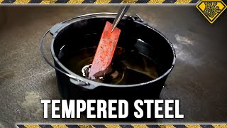How to Make Tempered Steel w/ the Hacksmith