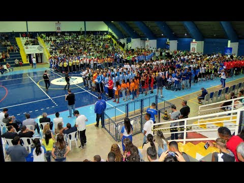 Jogos Regionais: muita festa na abertura oficial