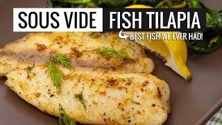 Tilapia Sous Vide - Cooking Fish Sous Vide Style