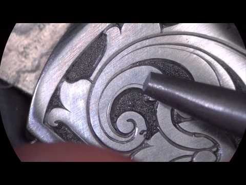 Graviranje drške noža