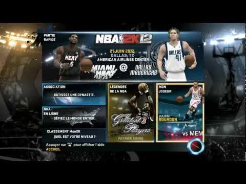 NBA 2K12 #01 : Découverte et mode mon joueur - YouTube