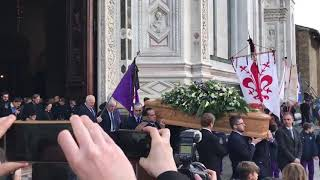 Funeral of Davide Astori captain from Fiorentina!!! WOOWW