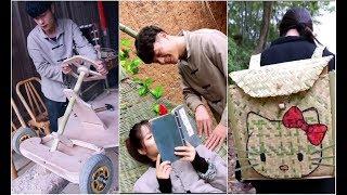 Chàng Trai Có Thể Làm Mọi Thứ Từ Tre Đây Rồi P20 | Tik Tok Trung Quốc