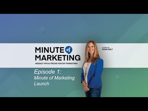 Minute of Marketing - Episode 1