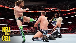 """Daniel Bryan & Brie Bella punish The Miz & Maryse with """"Yes!"""" Kicks: WWE Hell in a Cell 2018"""