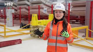 See inside HS2's giant tunnel factory