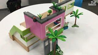 Playmobil 5574 city life maison moderne comparer avec for Piscine maison moderne playmobil