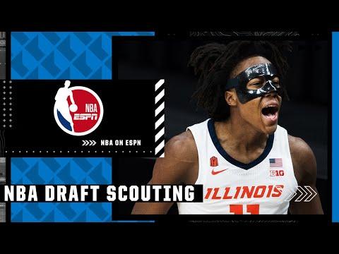 2021 NBA Draft prospect Ayo Dosunmu's film session with Mike Schmitz | NBA Draft Scouting