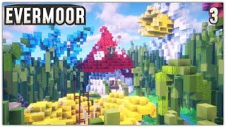 Flower Forest Minecraft Timelapse   Evermoor SMP #3