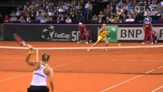 Fed Cup: Ana Ivanovic (SRB) Vs Angelique Kerber (GER) 2013 Full Match