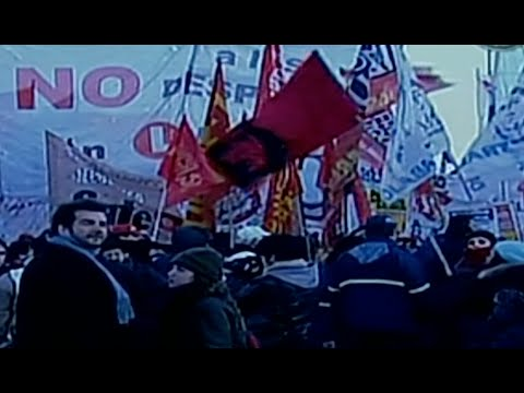 Huelga general paraliza a Argentina