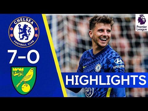Chelsea 7-0 Norwich | Cobham's Finest Score 7 at the Bridge! | Premier League Highlights