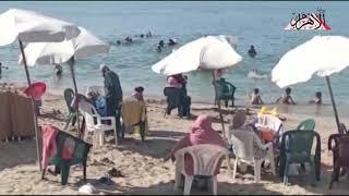 على-طريقتهم-الخاصة-أهالي-الإسكندرية-يحتفلون-في-هدوء-واستجمام-بآخر-أيام-الصيف
