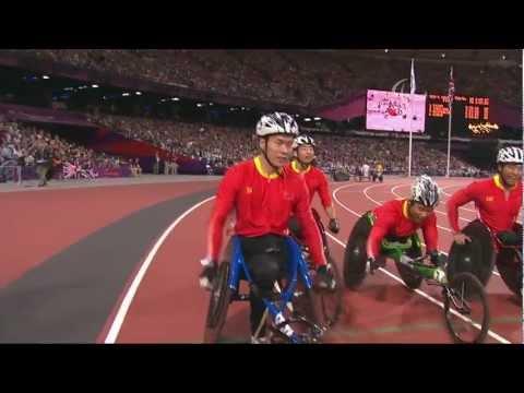 Athletics - Men's 4x400m - T53/T54 Final - London 2012 Paralympic Games