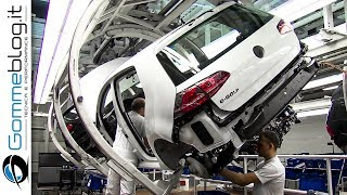 CAR FACTORY: HYPNOTIC Video Inside EXTREME VW Golf Production Line 2017