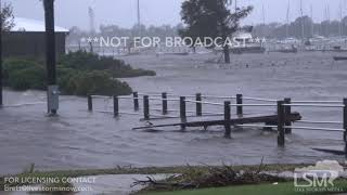 9-14-2018 New Bern, NC Hurricane Florence, total destruction, marina, search and rescue, Incredible
