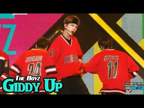 [HOT] THE BOYZ - Giddy Up, 더보이즈 - Giddy Up Show Music core 20180414