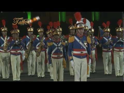TATTOO MILITAR CHILE 2012 PRESENTACIÓN BRASIL