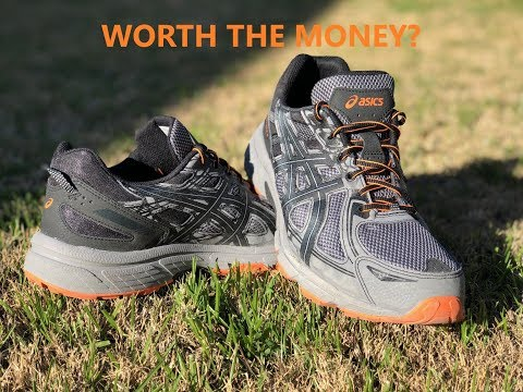 video Asics Gel Venture 6 Running Shoes for Men's and Women's